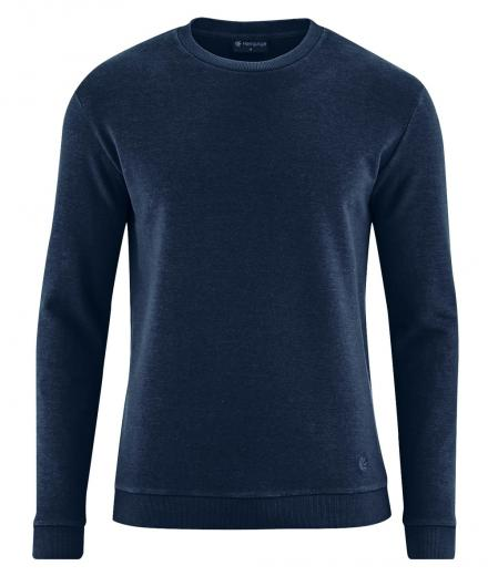 HempAge Unisex Sweater navy | M