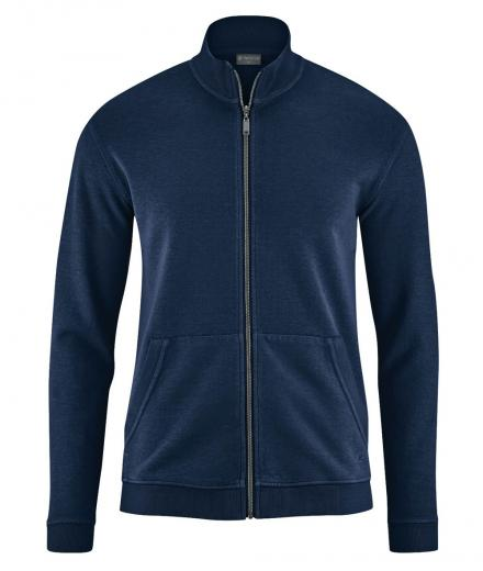 HempAge Sweat Jacket navy