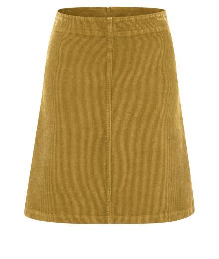 HempAge Cord Skirt peanut