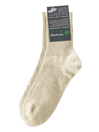 HempAge Wärmende Socke melange | 36/38