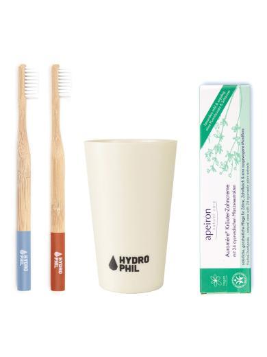 HYDROPHIL Starter Set – Drei Basics für Deine Zahnpflege