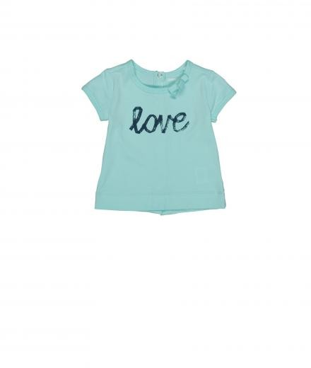 Imps & Elfs T-Shirt Love soft blue | 86
