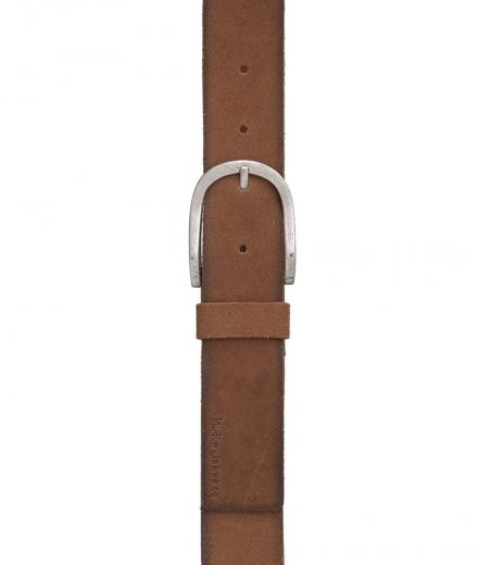 Nudie Jeans Ingesson Worn Suede Belt 100cm | brown