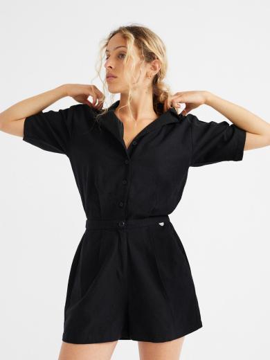 Thinking MU Jade Jumpsuit Black