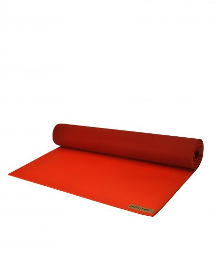 "JadeYoga TwoTone 5mm (3/16''), 180cm (71"") chilli pepper/red"