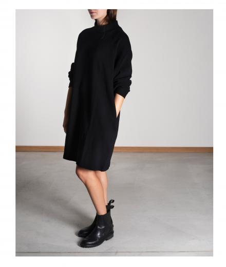 JAN ´N JUNE O-Dress Momo Rib black