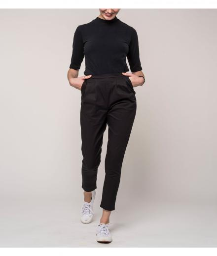 JAN 'N JUNE Pants Page black | S