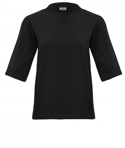 JAN 'N JUNE T-Shirt Nina Rib Black M