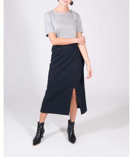 JAN 'N JUNE Skirt Finley Corduroy Sweat midnight M