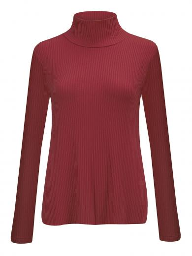 JAN 'N JUNE Turtle Neck Sweater Mio Framboise