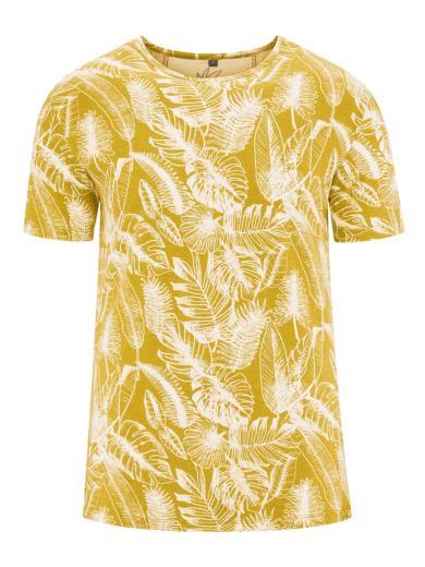 T-Shirt Jersey Jungle Print Curry