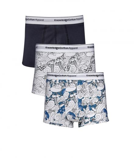 Knowledge Cotton Apparel Underwear 3pack - GOTS