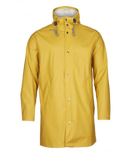 Knowledge Cotton Apparel Long Rain Jacket/ Vegan