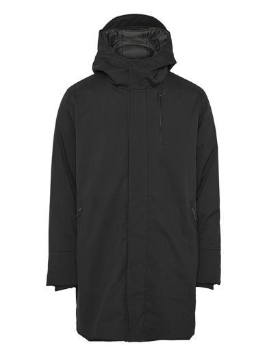 Knowledge Cotton Apparel CLIMATE SHELL jacket black jet