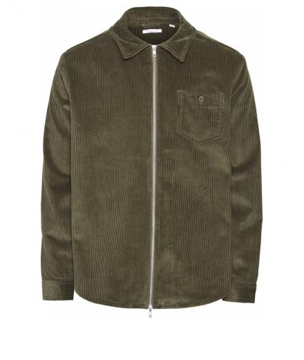 Knowledge Cotton Apparel 8 Wales Corduroy overshirt