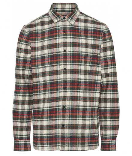 Knowledge Cotton Apparel Checked Flannel Shirt - GOTS/Vegan