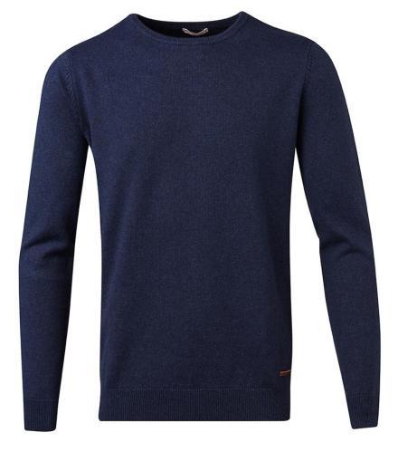 Knowledge Cotton Apparel Basic O-Neck Cotton/Cashmere - GOTS