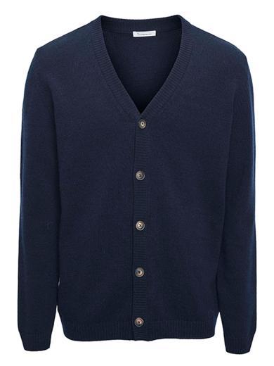 Knowledge Cotton Apparel FIELD Wool Cardigan