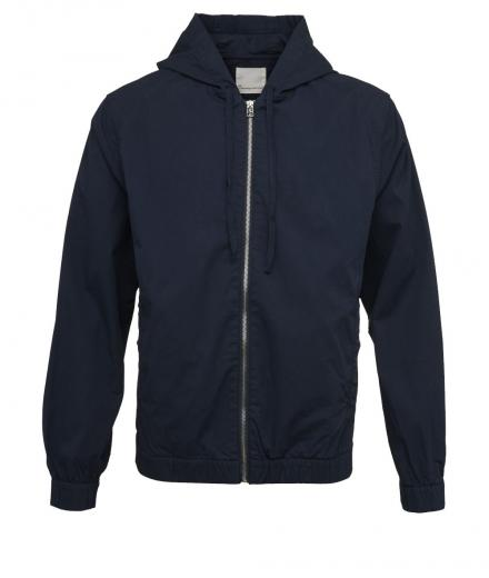 Knowledge Cotton Apparel Hood Jacket Total Eclipse | L
