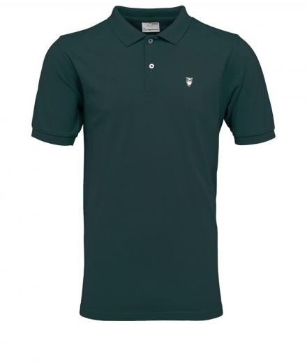 Knowledge Cotton Apparel Pique Polo GOTS Greener Pastures | L