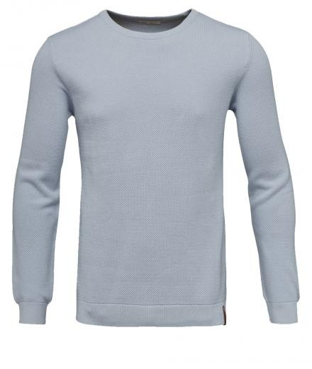 Pique crew neck knit Skyway | L