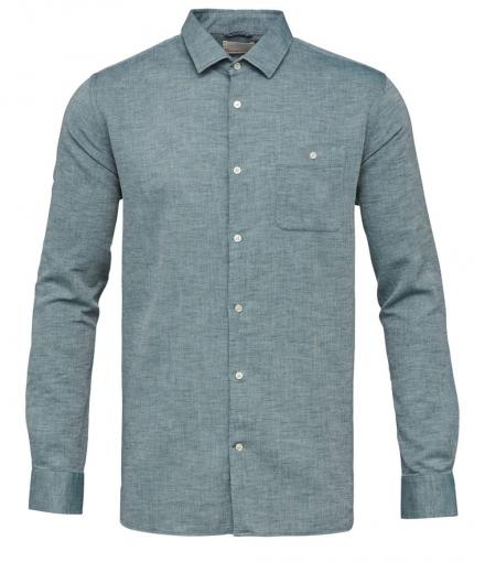 Knowledge Cotton Apparel Structured shirt baybarry | XL