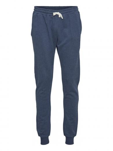 Knowledge Cotton Apparel Teak Jog Pant insigna blue melange