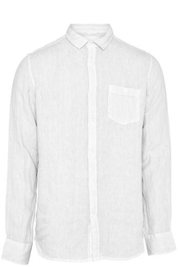 Knowledge Cotton Apparel LARCH LS linen shirt