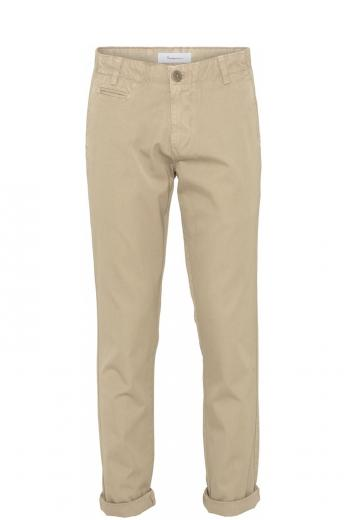 Knowledge Cotton Apparel CHUCK regular chino pant Light feather gray