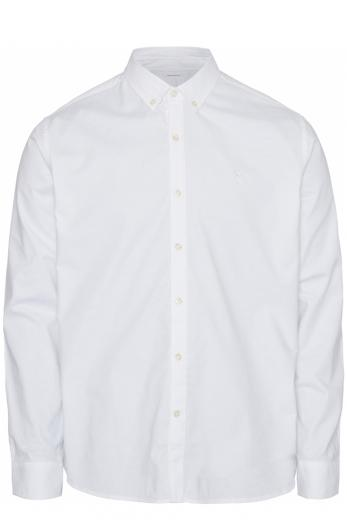 Knowledge cotton Apparel ELDER LS small owl oxford shirt