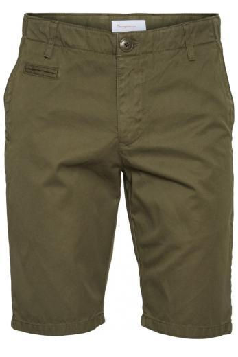 CHUCK regular chino shorts Burned Olive | 30