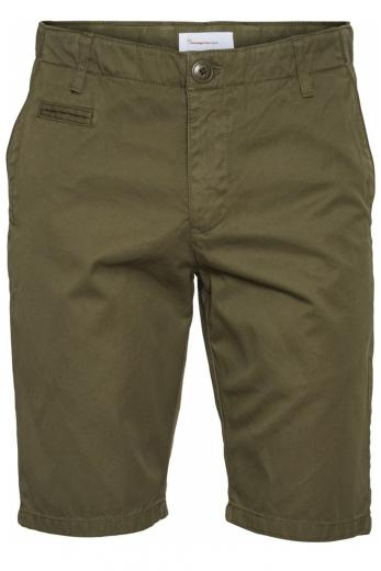 CHUCK regular chino shorts Burned Olive