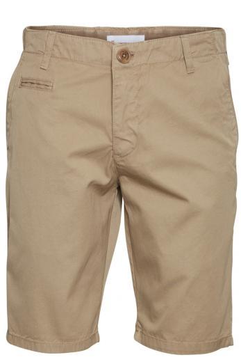 Knowledge Cotton Apparel CHUCK regular chino shorts Light Feather Grey
