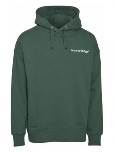 Knowledge Cotton Apparel Elm signature wave green