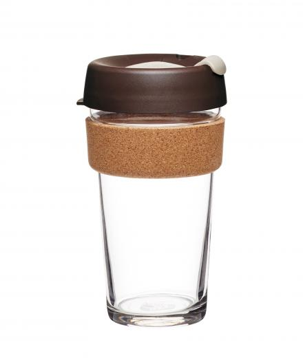 KeepCup Brew Cork Edition Almond Large (454ml)