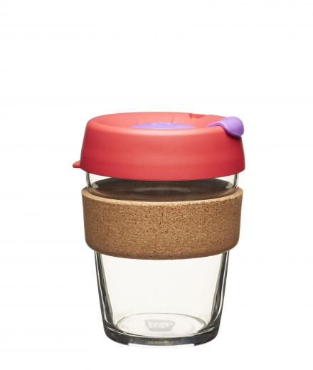 KeepCup Cork Brew Sumac   Medium (340ml)