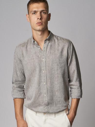 CARPASUS Shirt Linen Single Colour
