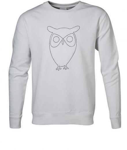 Knowledge Cotton Apparel Sweat W/Embossed Owl