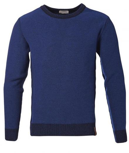Knowledge Cotton Apparel 2-Toned Reverse Knit