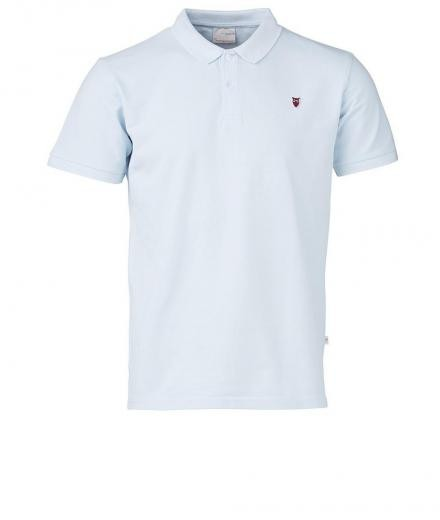 Knowledge Cotton Apparel Pique Polo GOTS Skyway | XL