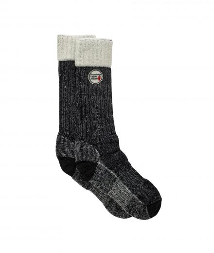 Knowledge Cotton Apparel Terry Socks single pack Total Eclipse | 38-42