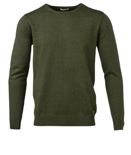Knowledge Cotton Apparel Basic O-Neck Cashmere/Cotton GOTS XL