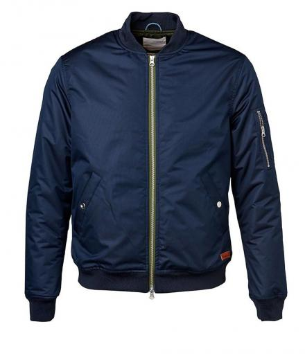 Knowledge Cotton Apparel Functional Bomber Jacket