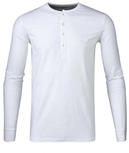 Knowledge Cotton Apparel Henley - GOTS