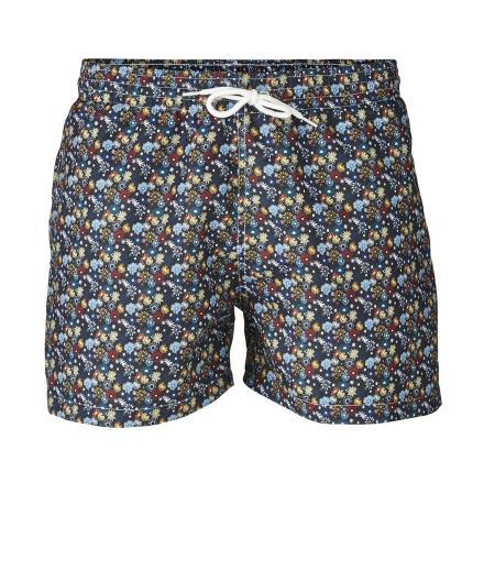 Knowledge Cotton Apparel Swim Shorts W/ Flower Print