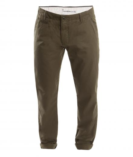 Knowledge Cotton Apparel Chuck The Brain Chino Vegan Burned Olive | 31/32