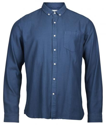 Knowledge Cotton Apparel Twill shirt