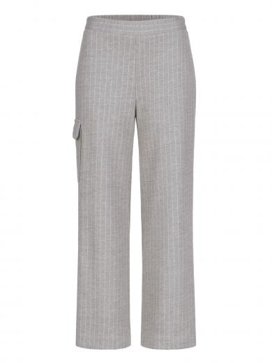 LANIUS Streifen-Culotte mit Tasche virgin wool