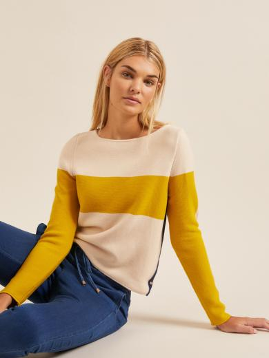 LANIUS Colorblock Pullover