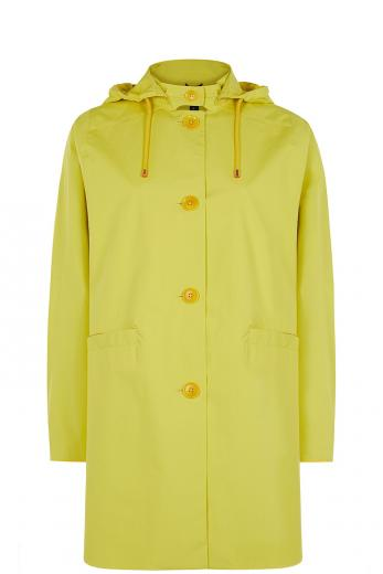 LangerChen Coat Mira short lemon